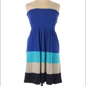 NWOT Calvin Klein Strapless Dress